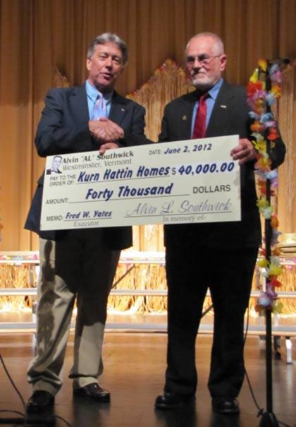 2012 Kurn Hattin Receives $40K Donation