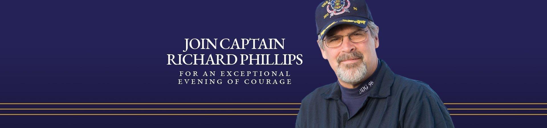 Captain Richard Phillips Fundraising Event at Kurn Hattin Homes for Children- Rescheduled